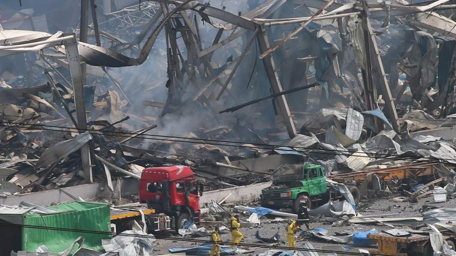 Откриха оцелял след експлозиите в Китай