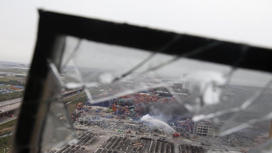 Броят на жертвите на взривовете в Китай стигна 112