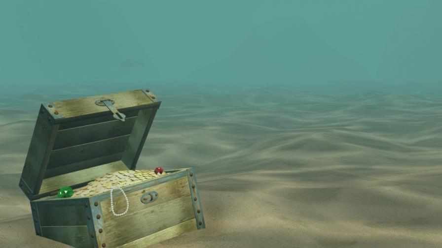 Намериха златно съкровище в океана край Флорида