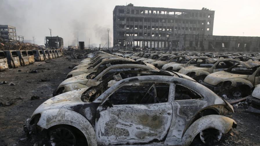 Тиендзин след взривовете