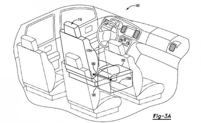 """И """"Форд"""" с патент за автономна кола"""