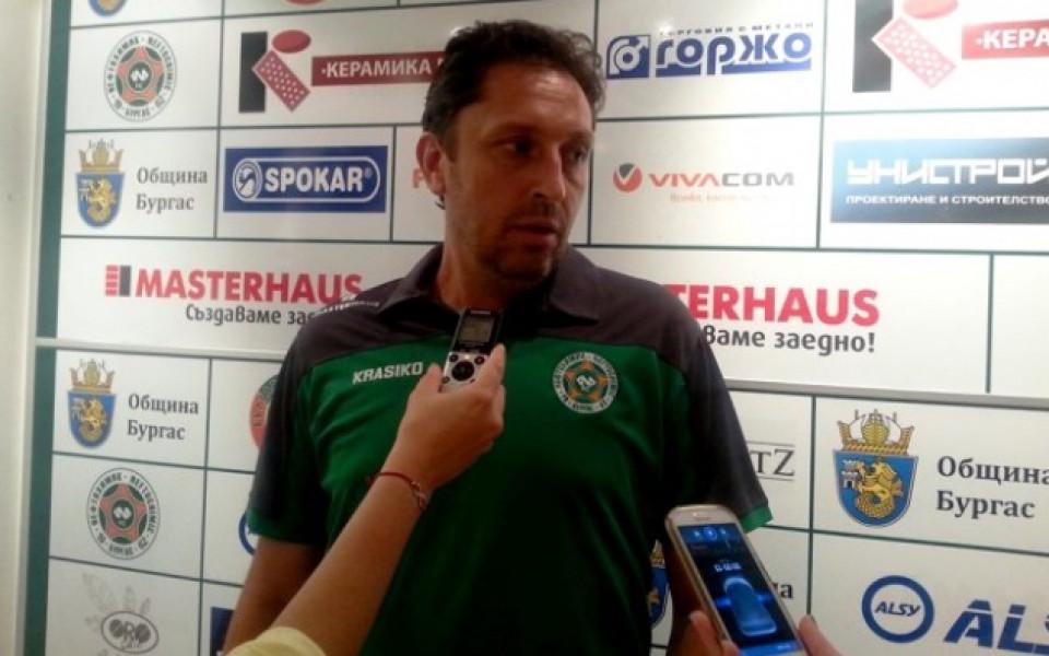 Треньорът на Нефтохимик: Има време до двубоя с ЦСКА