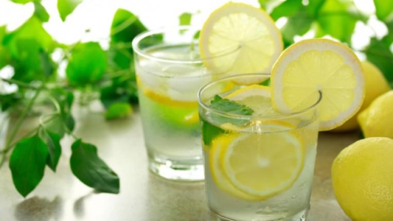 вода лимон