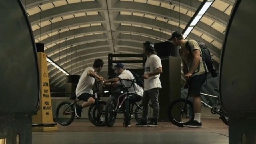 Вашингтон се оказа гостоприемен за BMX (видео)