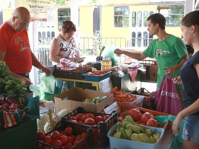 пазар фермери земеделци био храна стока
