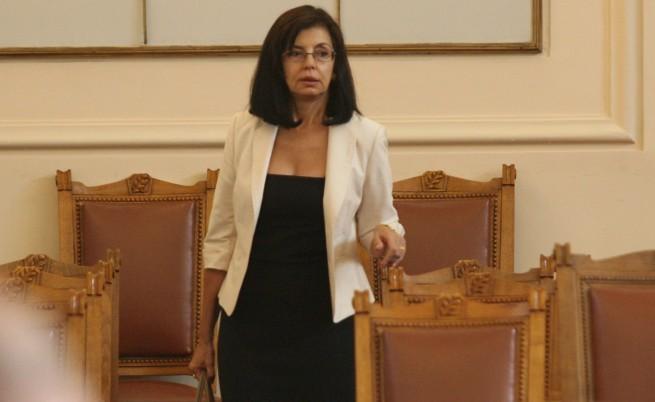 Отхвърлиха закона на Кунева за борба с корупцията