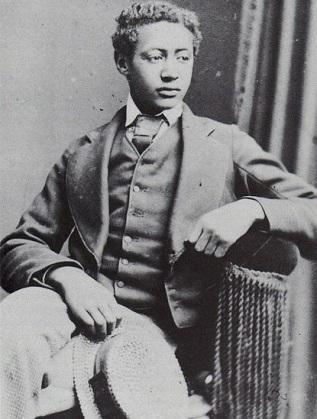 Принц Алемайеху като юноша