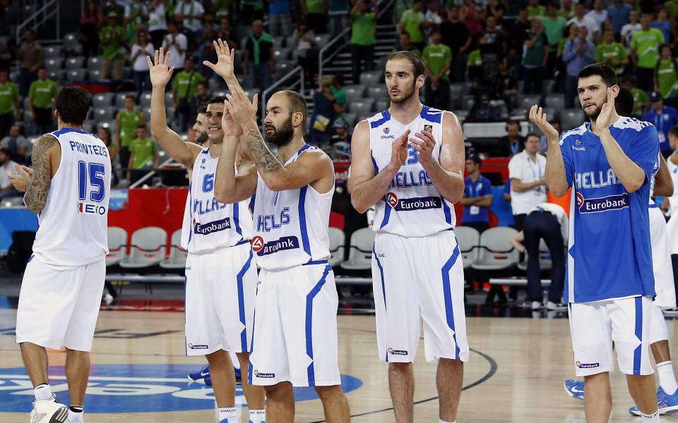 Латвия победи Гърция със 77:66 и нанесе първо поражение на