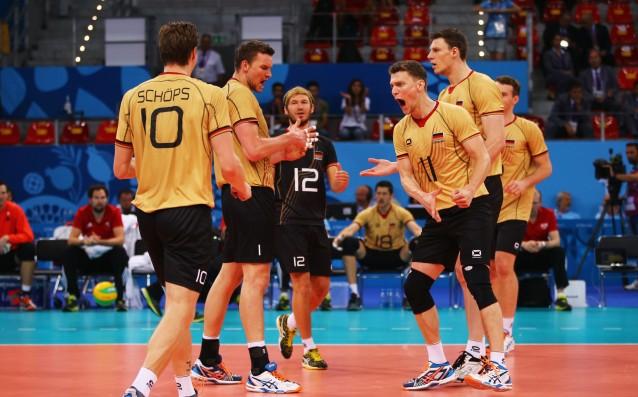 Национален отбор на Германия по волейбол<strong> източник: Gulliver/Getty Images</strong>