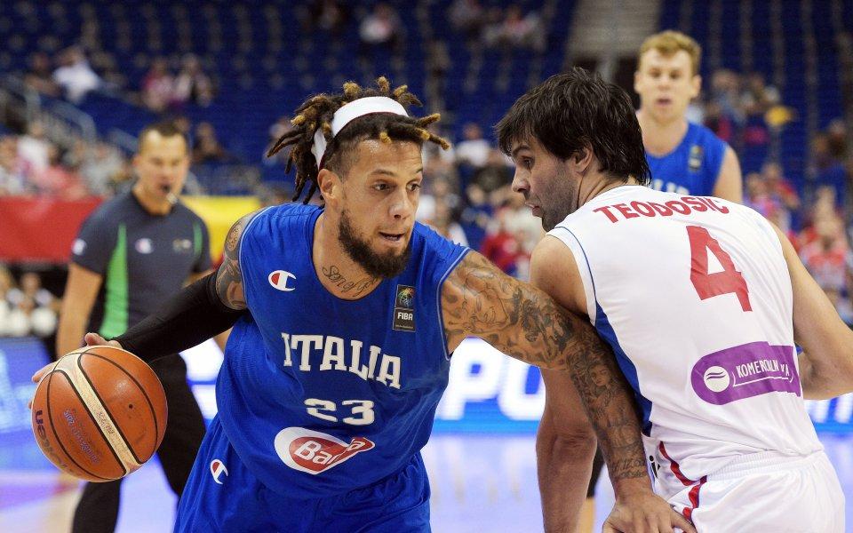 Италия не се напрегна срещу Ангола