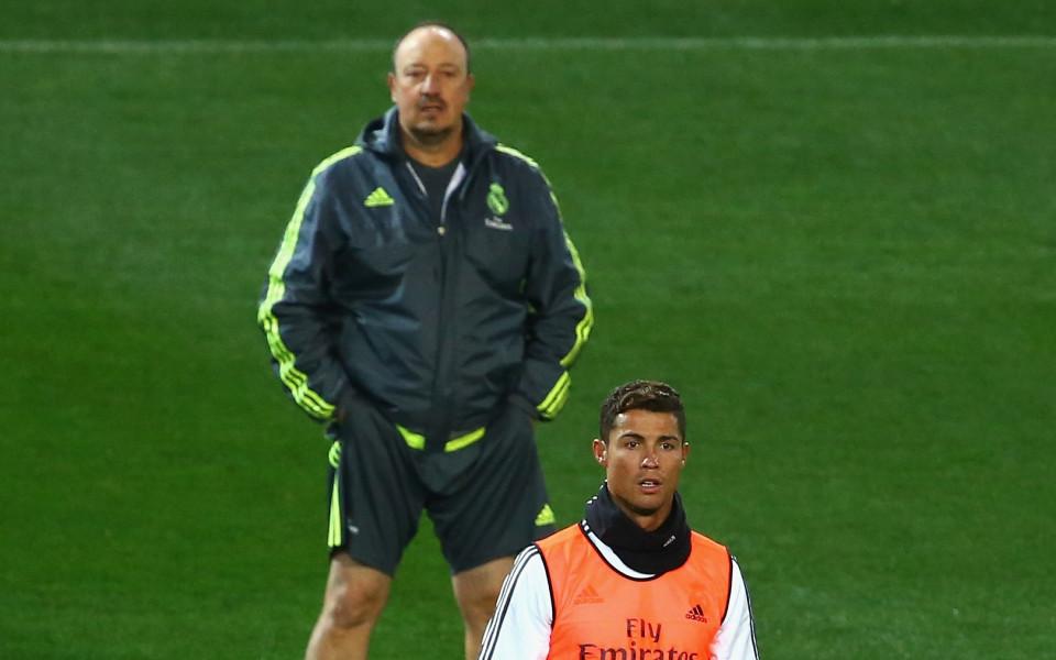 Рафа Бенитес засипа Роналдо с хвалби: Той е най-великият!