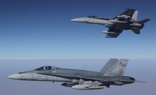 Бомбандировка по ИД в Сирия, ударите нанесе Австралия