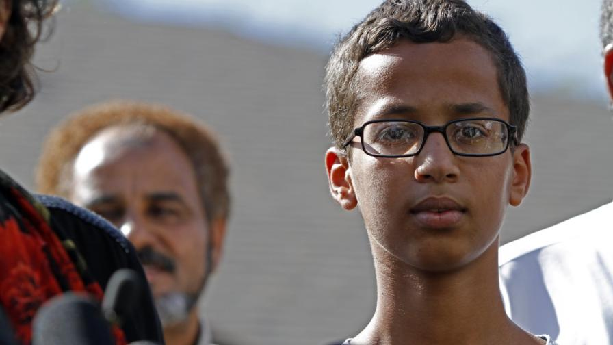 14-годишния Ахмед Мохамед