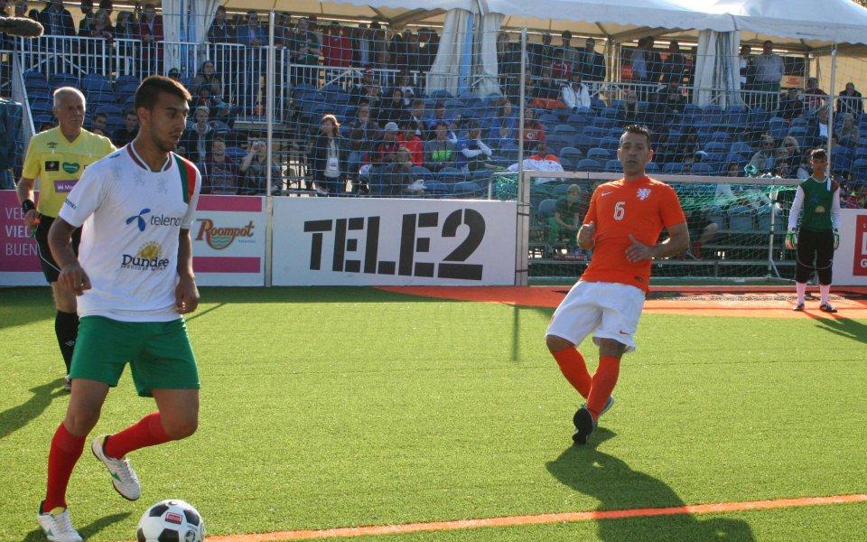 България сред десетте най-добри отбори по футбол за бездомни
