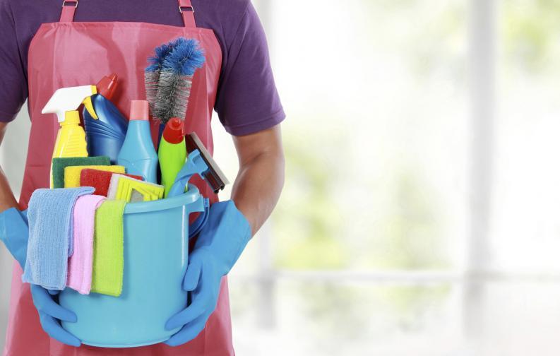 почистване чистене дом