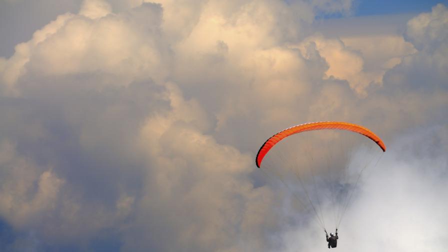 Да летиш 40 секунди с 200 км/ч към земята (видео)