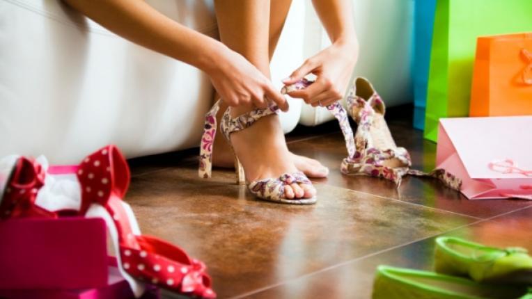 шопинг обувки