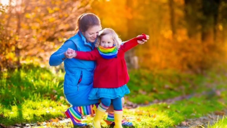деца родители есен