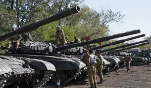 Съгласие: Изтеглят оръжията под 100 мм в Източна Украйна