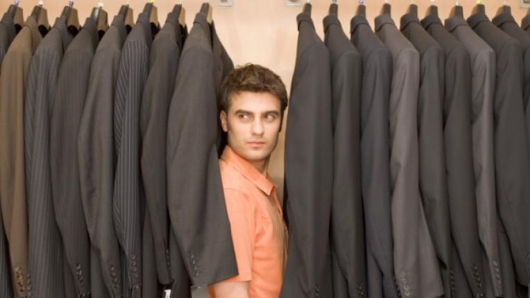 мъж гардероб дрехи