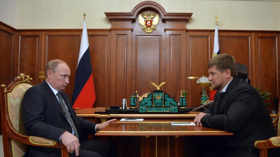 Кадиров към Путин: Дай ми да се бия срещу ИД в Сирия