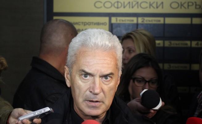 Сидеров прекъсна брифинг на МВР и прокуратурата (видео)