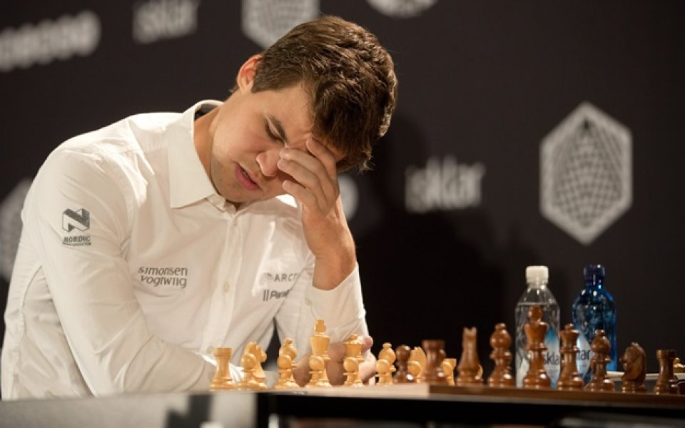 Поредно реми между Карлсен и Каруана