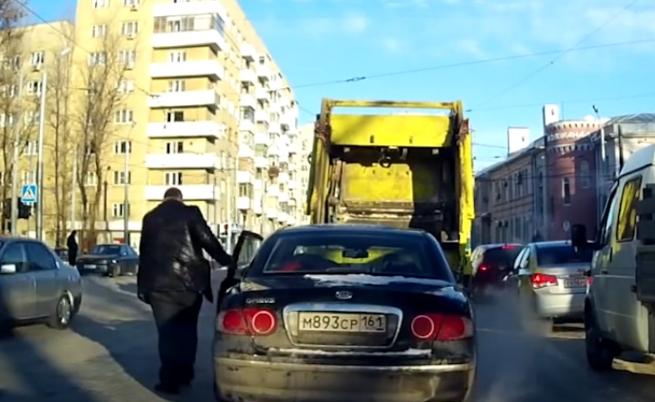 Смешни изцепки на пътя (видео)