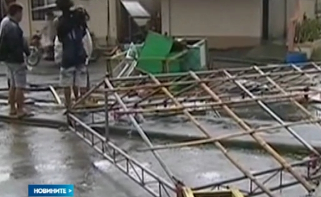 14 станаха жертвите на тайфуна във Филипините