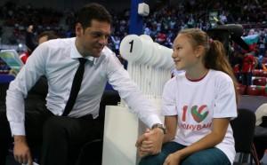 Волейболистка влезе в щаба на Пламен Константинов за Европейското