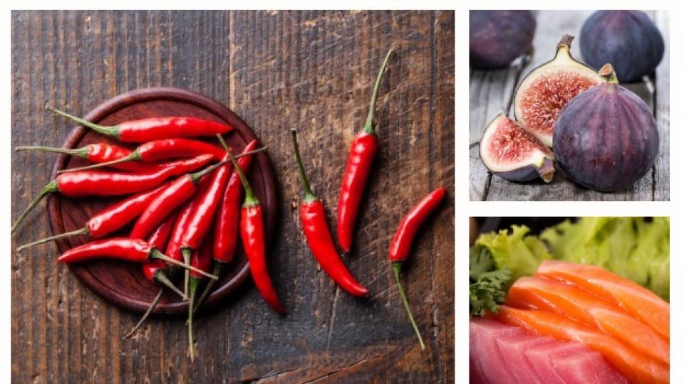 7 неподозирани храни, които подобряват сексуалния живот