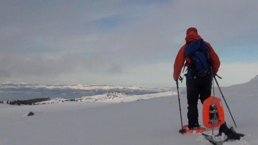 Български снегоходки стъпиха на Антарктика (видео)
