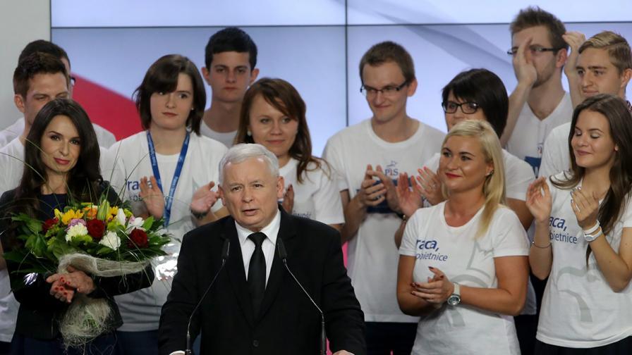 Националистите се връщат на власт в Полша