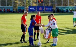 Девойките до 18 г. с победа на футболния турнир в Албена
