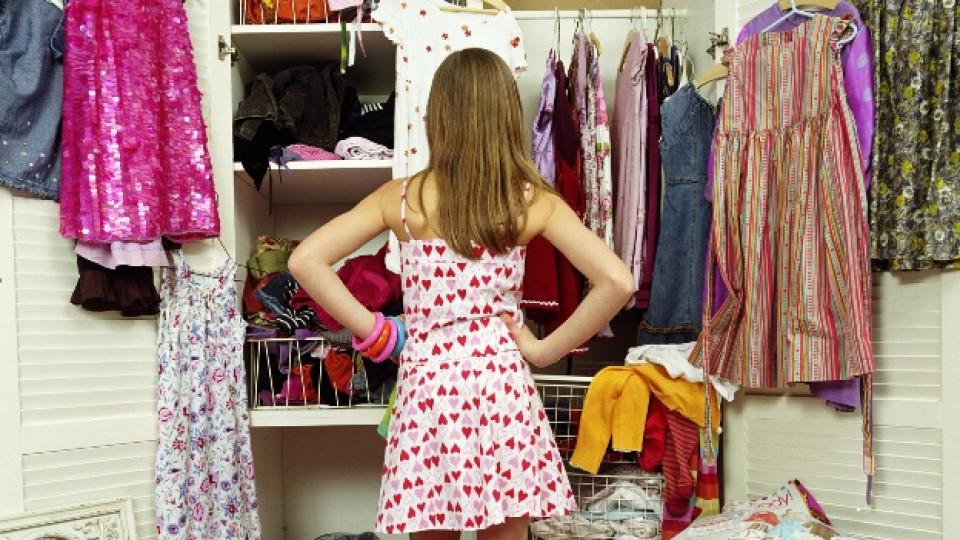Как да организираме гардероба си - да почистим ненужното и да направим място за новото