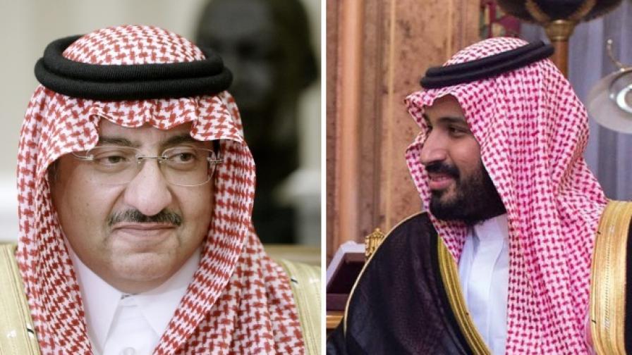Борба за власт между принцове в Саудитска Арабия