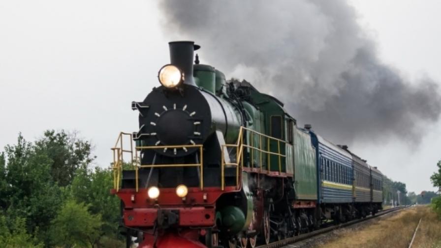 Локомотив, захранван от батерии измина 22 км