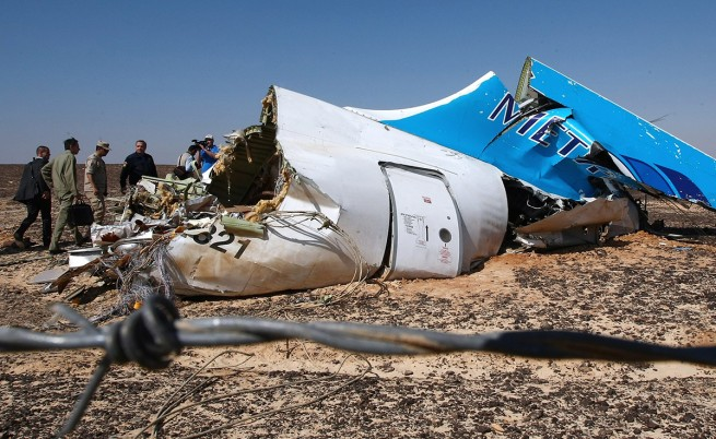 Британски експерти: Руският самолет е имал бомба в багажа