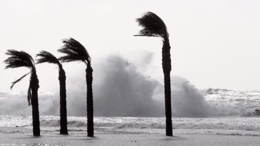 Най-ветровитите места на света