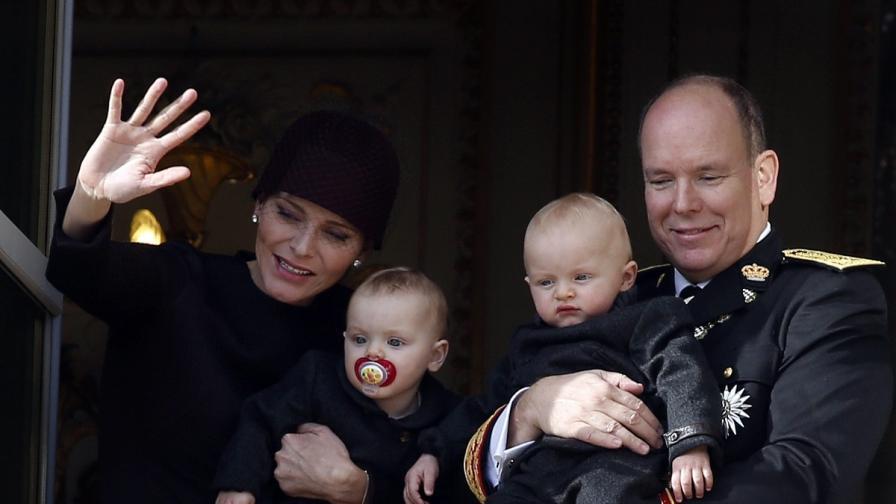 Близнаците на принц Албер – атракцията в Деня на Монако