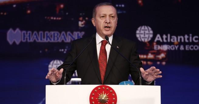 Президентът на Турция Реджеп Ердоган отправи гневни критики срещу Централната