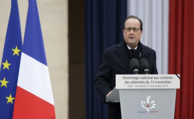 В Париж почетоха паметта на жертвите