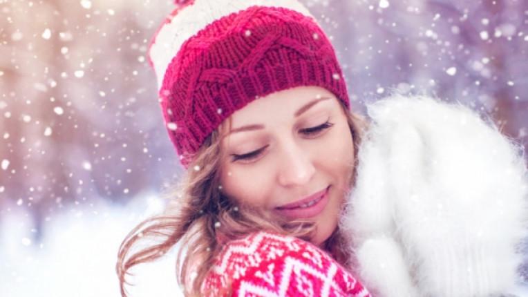 жена зима