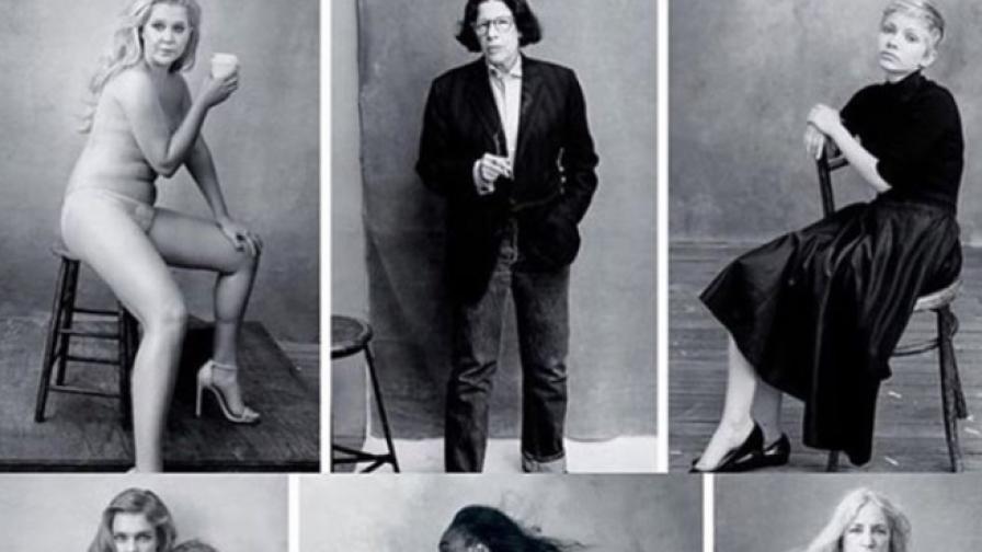 Календар замени голите модели с успели жени (фото)