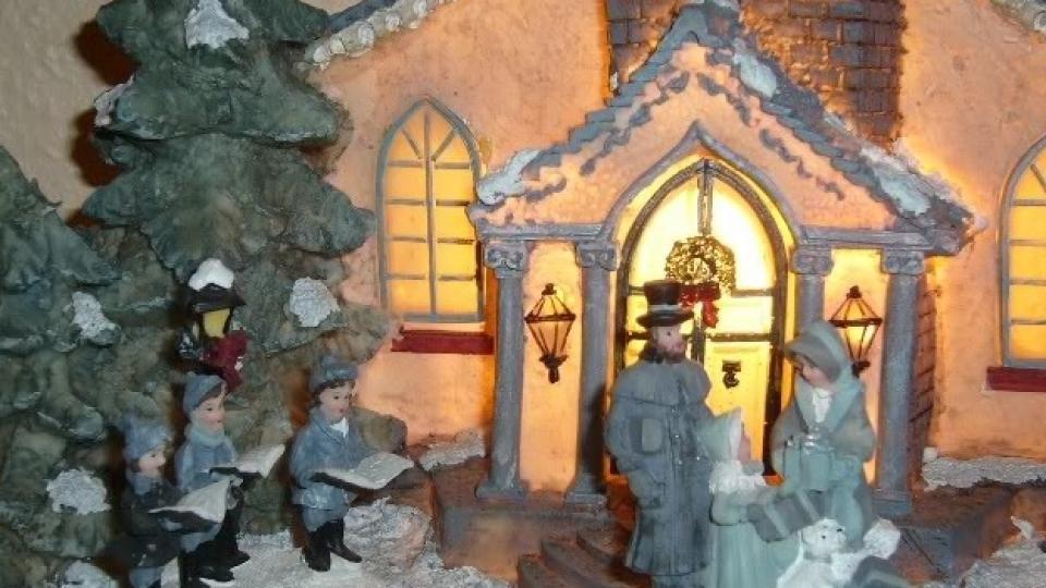 Коледа на свещи