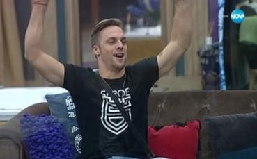 566db85bc30 Ваня Джаферович на финал в Big Brother All Stars, зарадва се на Берое