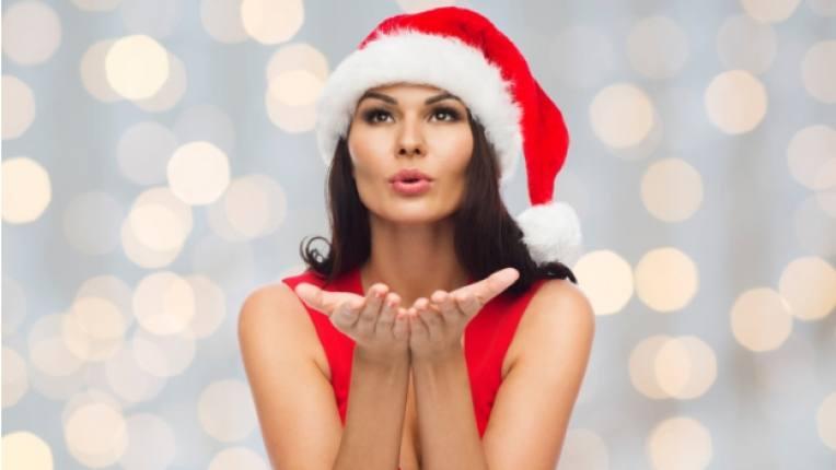 Коледа жена красота
