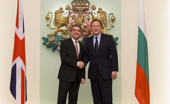 Плевнелиев и Камерън обсъдиха плана на Лондон за реформи в ЕС
