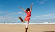 щастие живот задоволство море скок