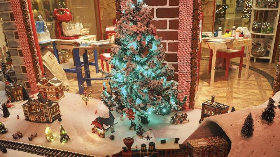 Коледна къща от... джинджифил